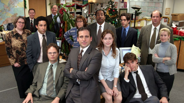 the classic original cast of The Office