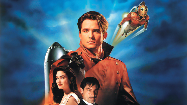 Promotional poster for Disney's 1991 film The Rocketeer
