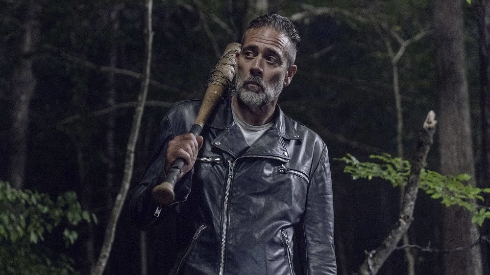 Jeffrey Dean Morgan as Negan on The Walking Dead