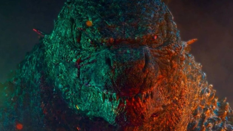 Godzilla fights Kong
