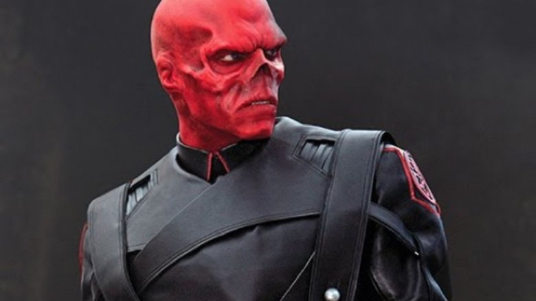 Hugo Weaving as the Red Skull in Captain America: The First Avenger