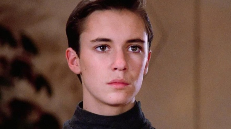 Wil Wheaton as Wesley Crusher on Star Trek: The Next Generation