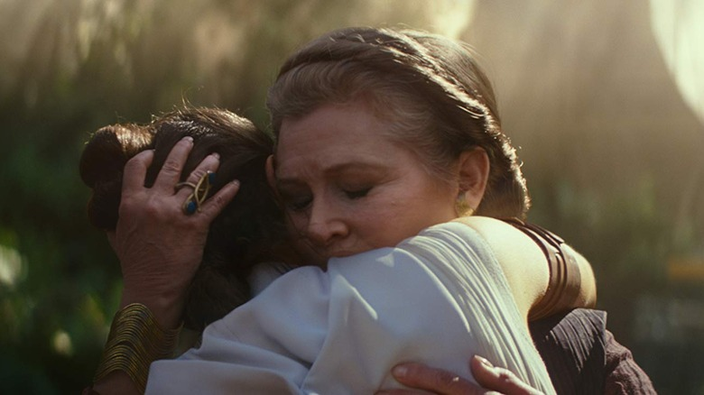 Rey and Leia
