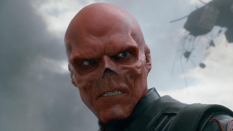 Hugo Weaving in Captain America: The First Avenger