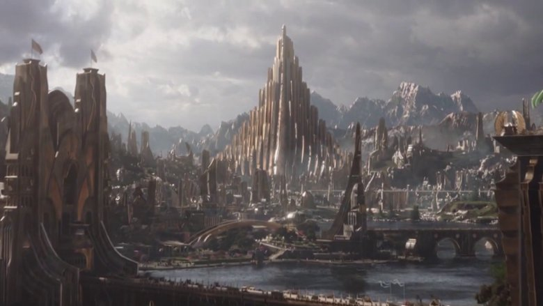 Scene from Thor
