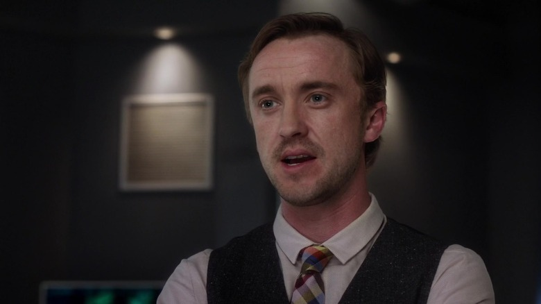 Tom Felton stars as Julian on The Flash