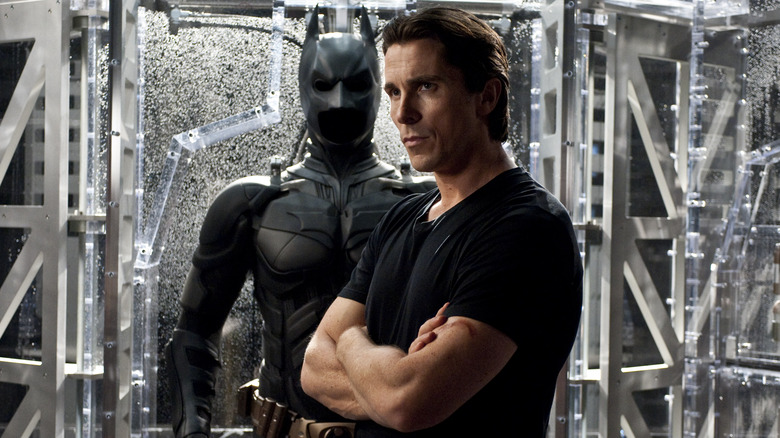 Chistian Bale in Christopher Nolan's The Dark Knight