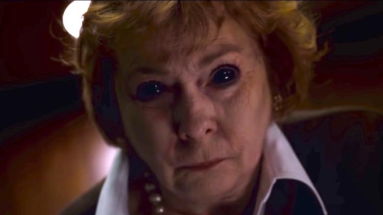Jenny O'Hara playing the Devil