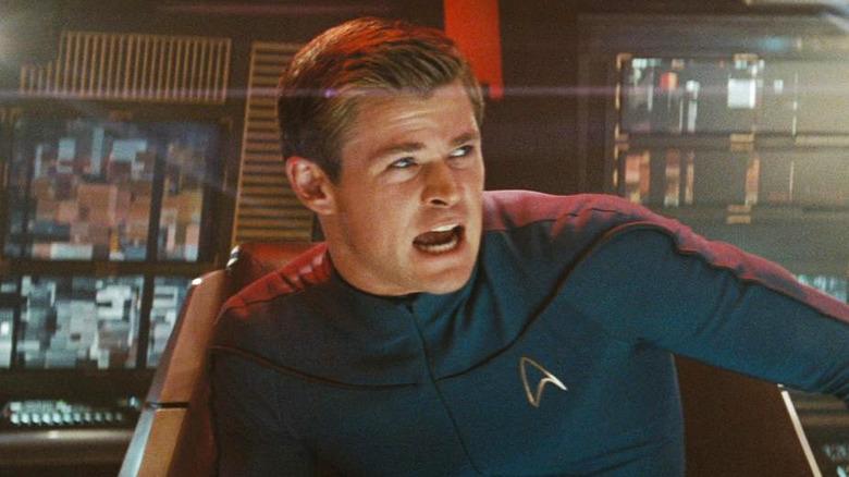 Chris Hemsworth as George Kirk in Stark Trek (2009)