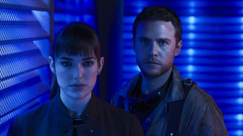 Fitz and Simmons on Agents of S.H.I.E.L.D.