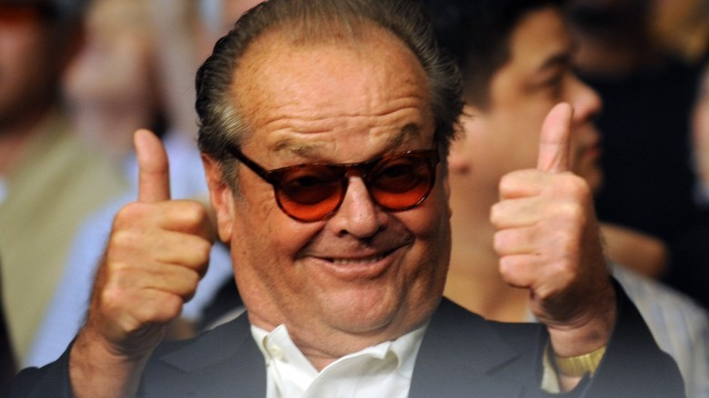 The reason we don't see Jack Nicholson anymore