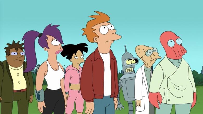 Animated cult hit Futurama