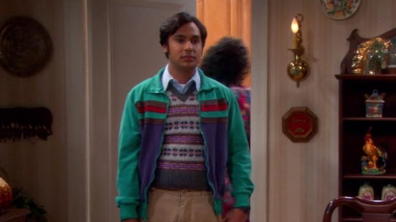Raj and Mrs Wolowitz, The Big Bang Theory