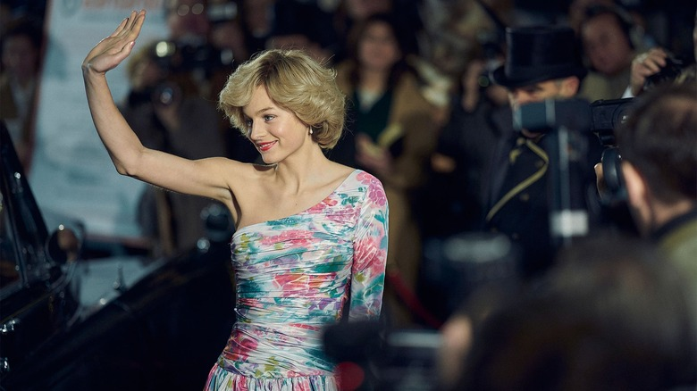 Emma Corrin as Princess Diana on Netflix's The Crown