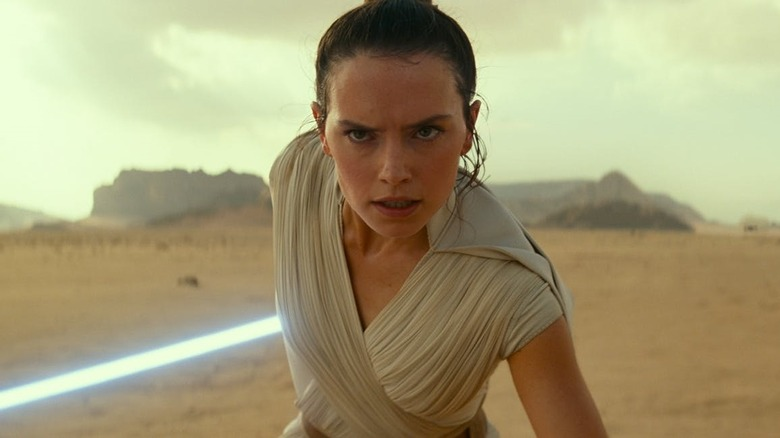 Daisy Ridley in Star Wars Episode IX: The Rise of Skywalker