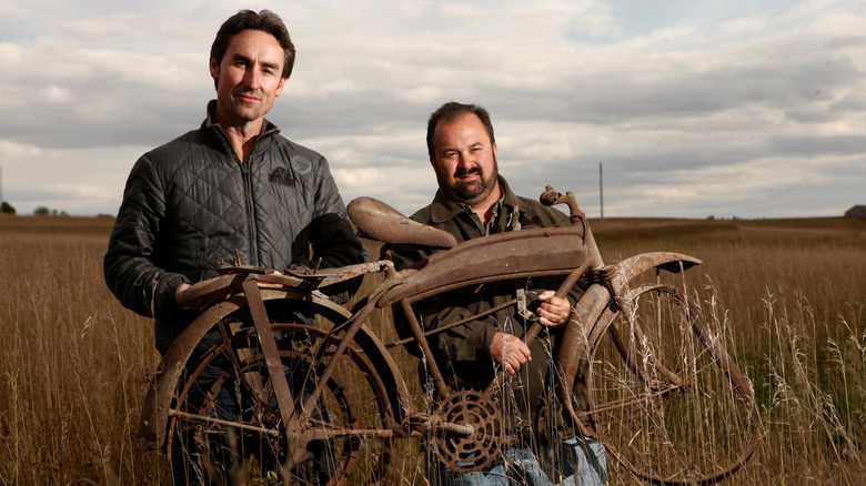 American Pickers' Mike Wolf and Frank Fritz