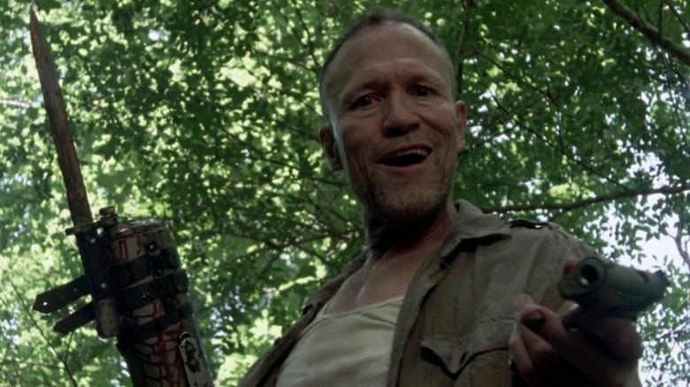 Michael Rooker as Merle Dixon on The Walking Dead