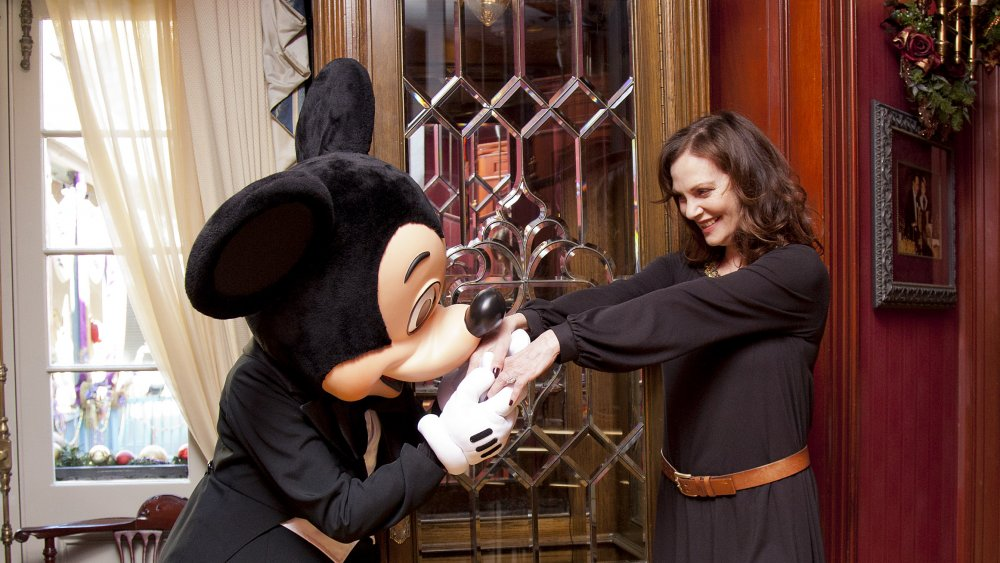 Mickey Mouse at Club 33