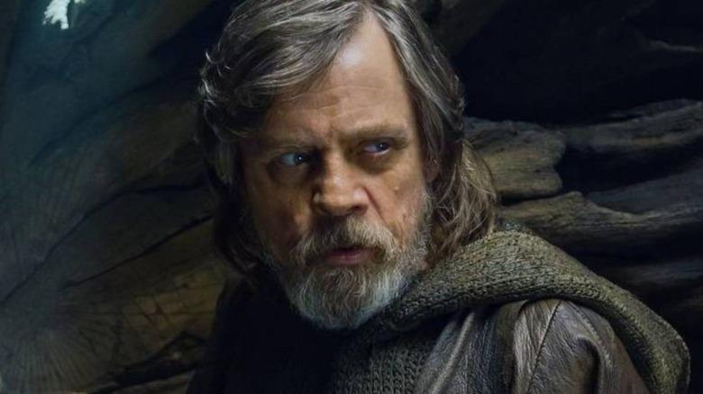 Mark Hamill as Luke Skywalker in Star Wars: Episode VIII - The Last Jedi