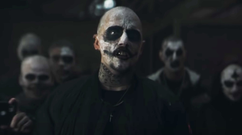The skull gang seen in the trailer for The Batman
