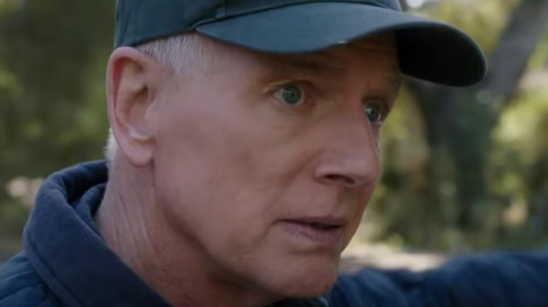 Mark Harmon as Supervisory Special Agent Leroy Jethro Gibbs on NCIS