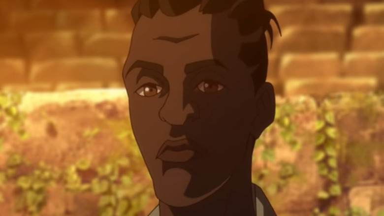 Yasuke close-up