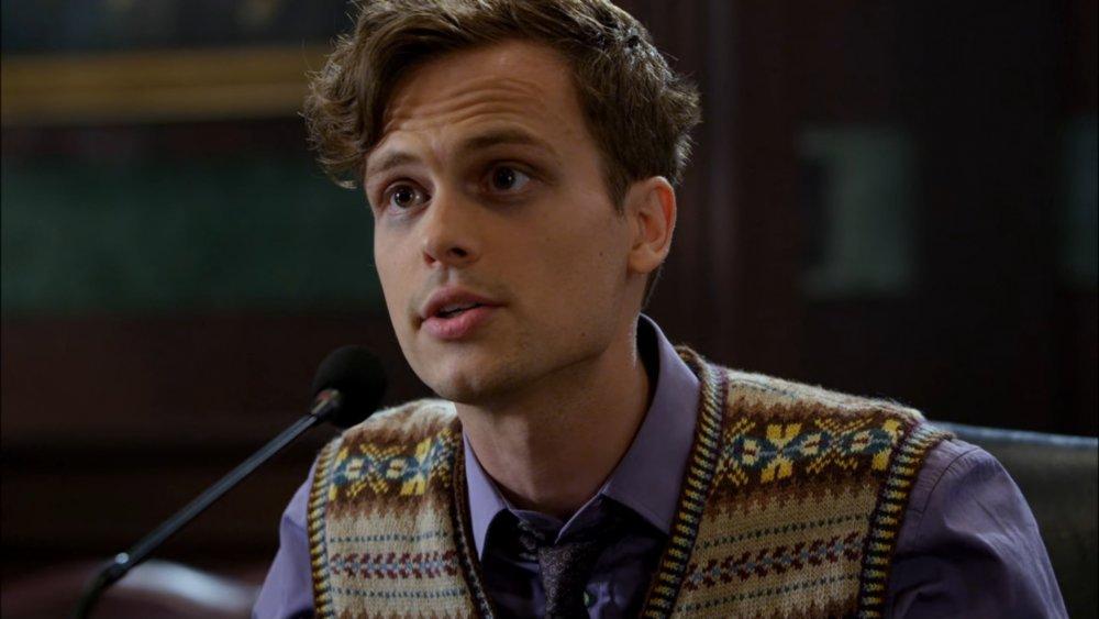 Matthew Gray Gubler as Dr. Spencer Reid on Criminal Minds