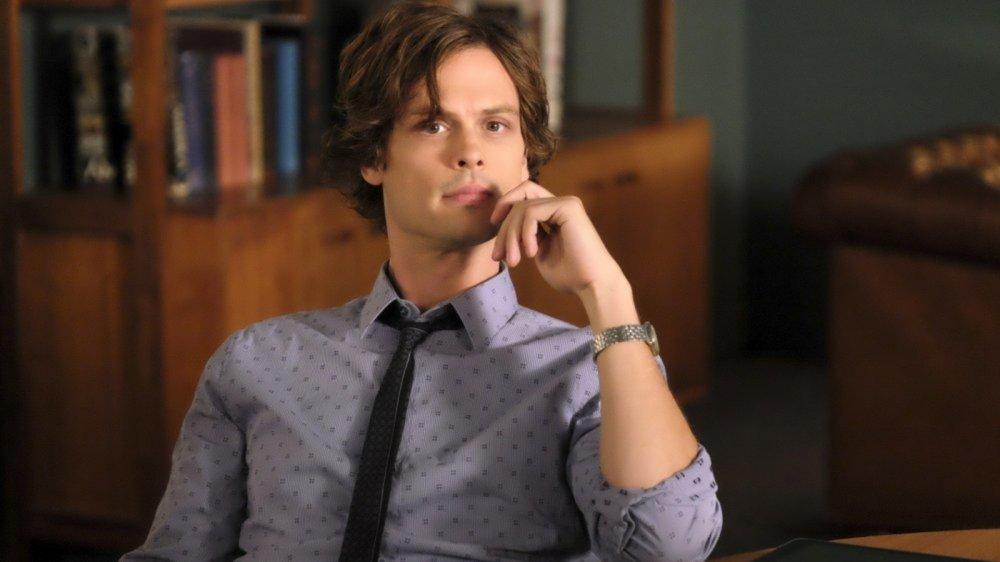Matthew Gray Gubler as Spencer Reid on Criminal Minds