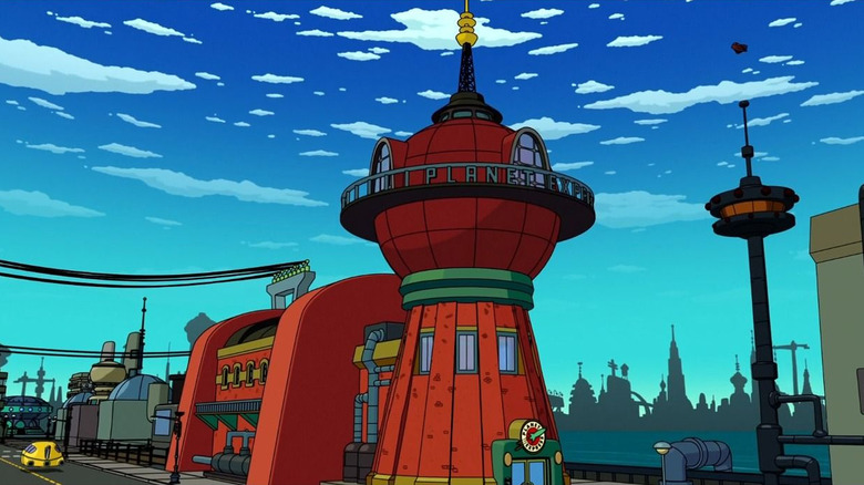 Planet Express Building from Futurama