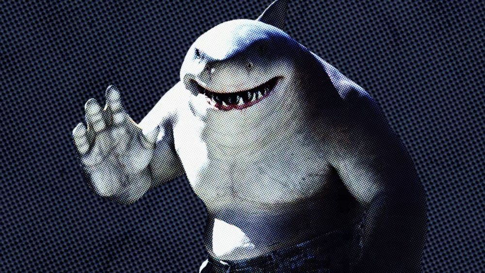 King Shark in a promo image for The Suicide Squad