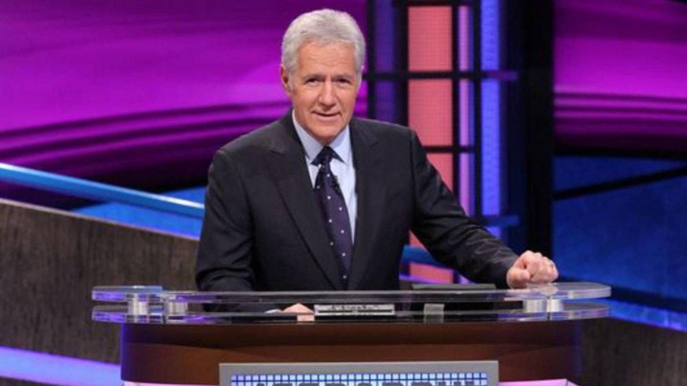 Alex Trebek was the host of Jeopardy for many years