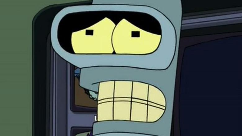 Bender in Futurama