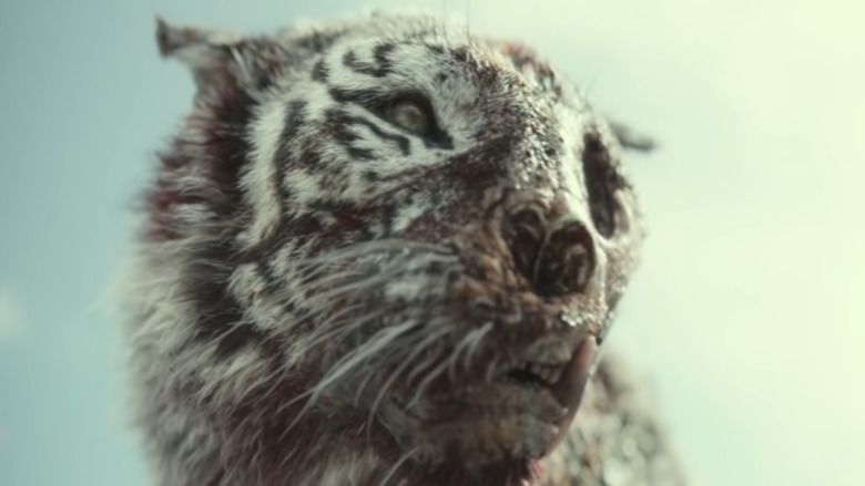 Zombie tiger in Army of the Dead