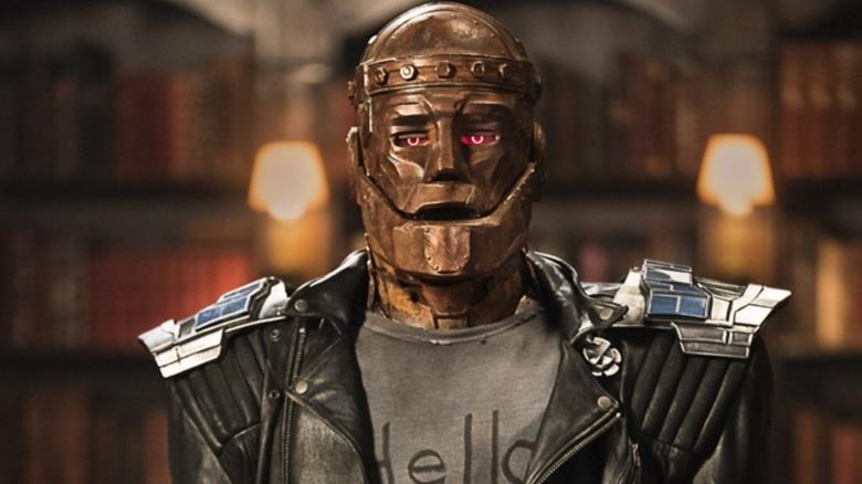 Brendan Fraser as Robotman in Doom Patrol