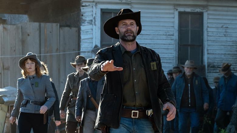 Garret Dillahunt as John Dorie on Fear the Walking Dead
