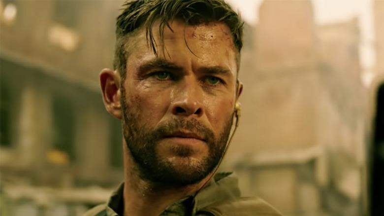 Chris Hemsworth in Extraction