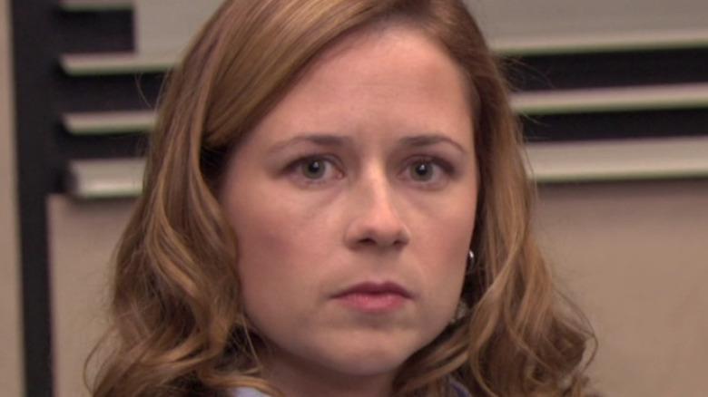 Pam Halpert annoyed