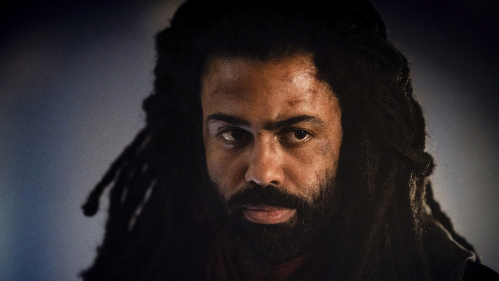 Daveed Diggs in close-up as Andre Layton on Snowpiercer