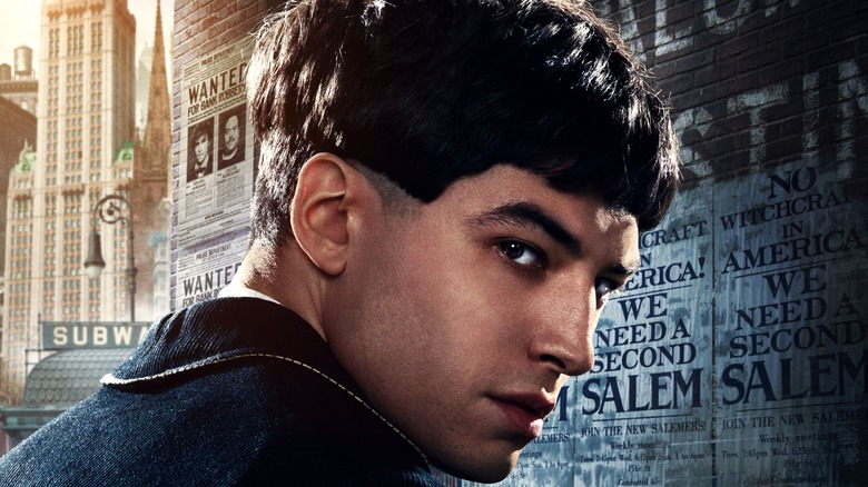 Ezra Miller as Credence Barebone in Fantastic Beasts
