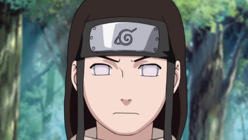 Neji Hyuga from Naruto