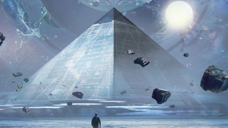 The cover of the US edition of The Three-Body Problem