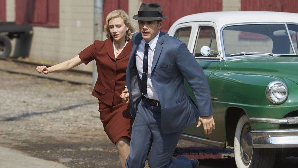 Sarah Gadon and James Franco in Hulu's 11.22.63