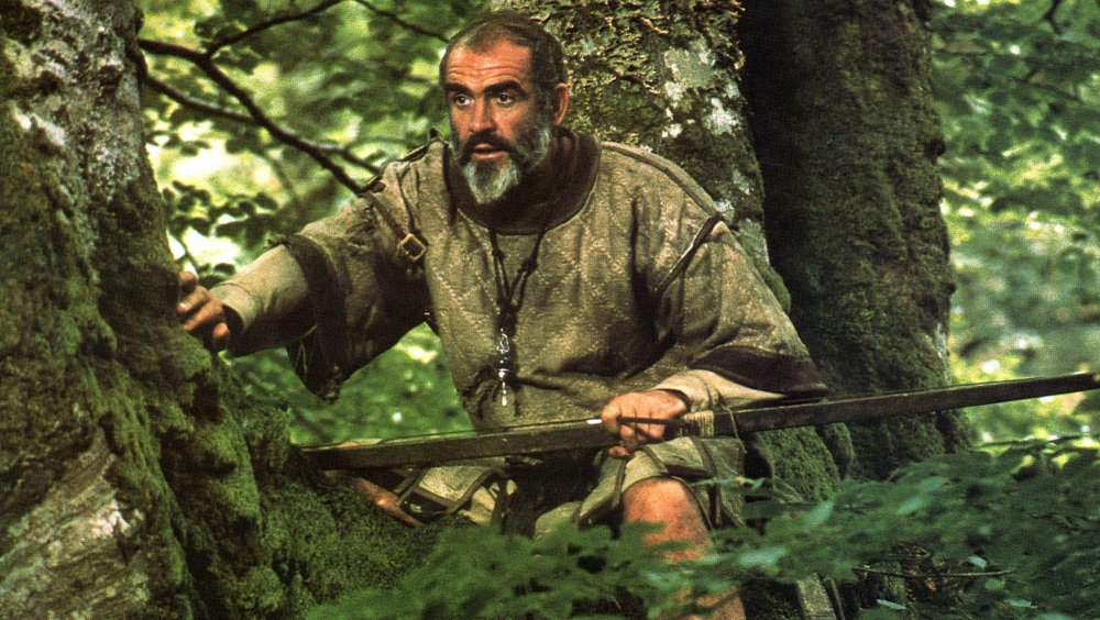 Sean Connery as Robin Hood in Robin and Marian