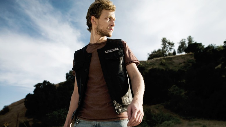 """Johnny Lewis as Kip """"Half-Sack"""" Epps on FX's Sons of Anarchy"""