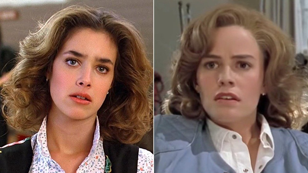 Elisabeth Shue replaced Claudia Wells and Jeffrey Weissman replaced Crispin Glover