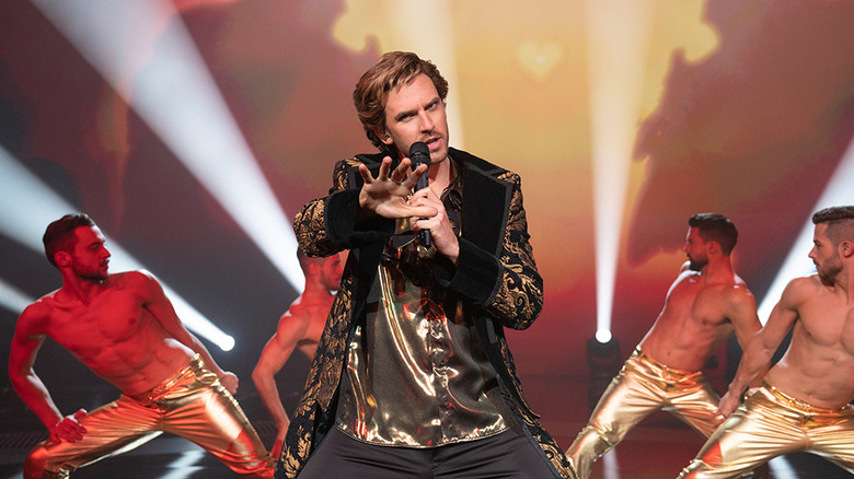 Dan Stevens in Netflix's in Eurovision Song Contest