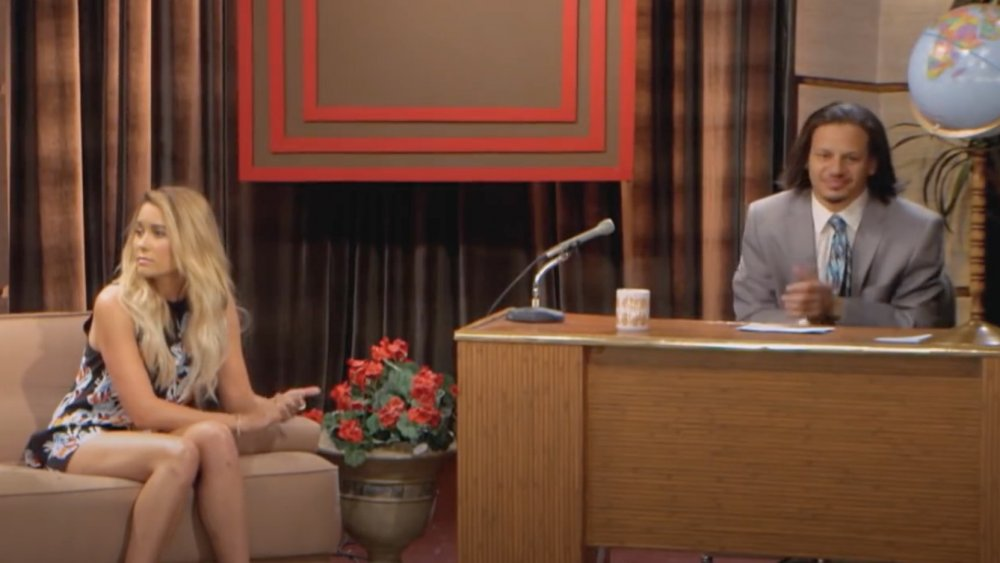 Lauren Conrad and Eric Andre on The Eric Andre Show