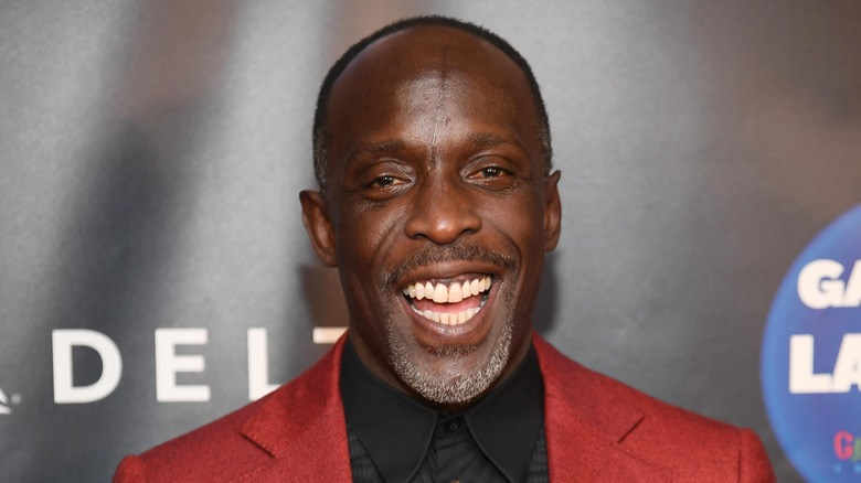 Michael K. Williams at a premiere event