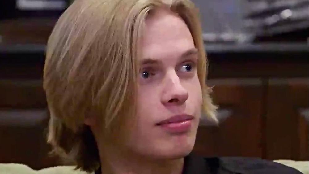 Rick Harrison's son Jake seen on Pawn Stars