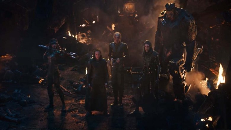 The Black Order in Avengers: Infinity War